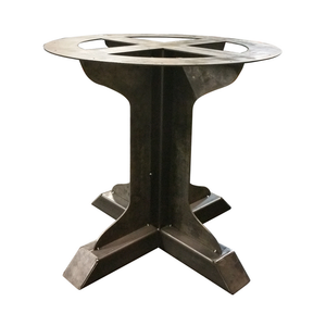 Pedestal Fin Support Table Base