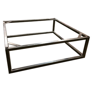 Brickmakers Coffee Table Frame - Square tubing frame