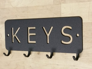 wall hanging keys station