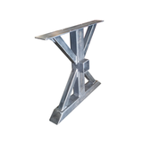 Metal Table Legs With Cross Beam Bracket