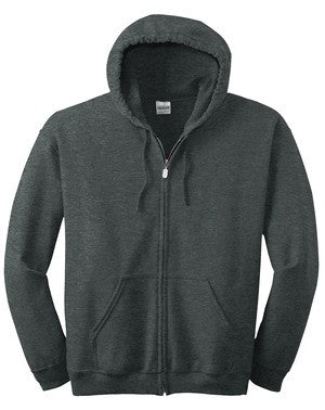 18600 Gildan Full Zip sweatshirt