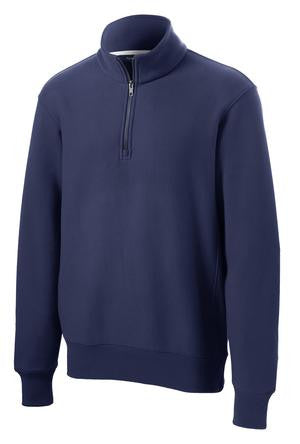 ST283 SanMar Super Heavy Weight 1/4 zip Sweatshirt
