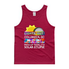 Men's - Columbia SC - Solar Eclipse Tank Top: