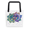Solar Eclipse Tote Bag - Anna & Vronsky - Path of Totality August 21, 2017