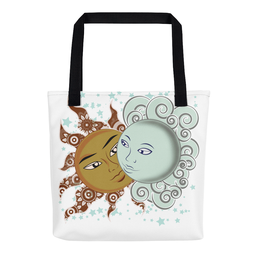 Solar Eclipse Tote Bag - Drogo & Daenerys - Path of Totality August 21, 2017