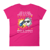 Women's Solar Eclipse Short Sleeve T-Shirt - Bonnie & Clyde - Live Love Dance - Path of Totality August 21, 2017