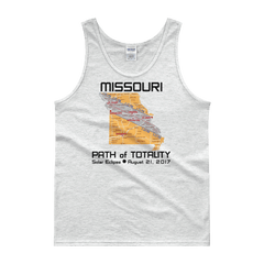 "Men's Tank Top:""Missouri"" PATH of TOTALITY Solar Eclipse August 21, 2017"