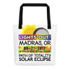Solar Eclipse Tote Bag - Madras OR - Path of Totality August 21, 2017
