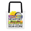 Solar Eclipse Tote Bag - Newport OR - Path of Totality August 21, 2017