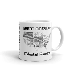 "Solar Eclipse Mug: ""USA11W"" PATH of TOTALITY Great American Celestial Reunion August 21, 2017 (Made in USA)"