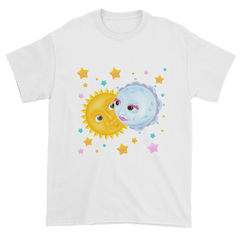 Men's Solar Eclipse Short Sleeve T-Shirt - Kristoff & Anna - Live Love Dance Path of Totality August 21, 2017