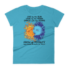 Women's Solar Eclipse Short Sleeve T-Shirt - Antony & Cleopatra - Live Love Dance Path of Totality August 21, 2017