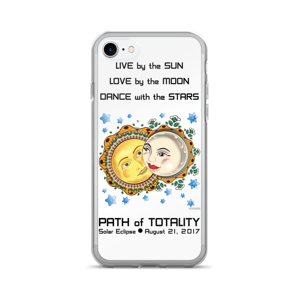 Solar Eclipse iPhone 7/7 Plus Case - Romeo & Juliet - Path of Totality August 2017