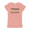 Girls Solar Eclipse Princess T-Shirt - Tennessee - Path of Totality August 21,  2017