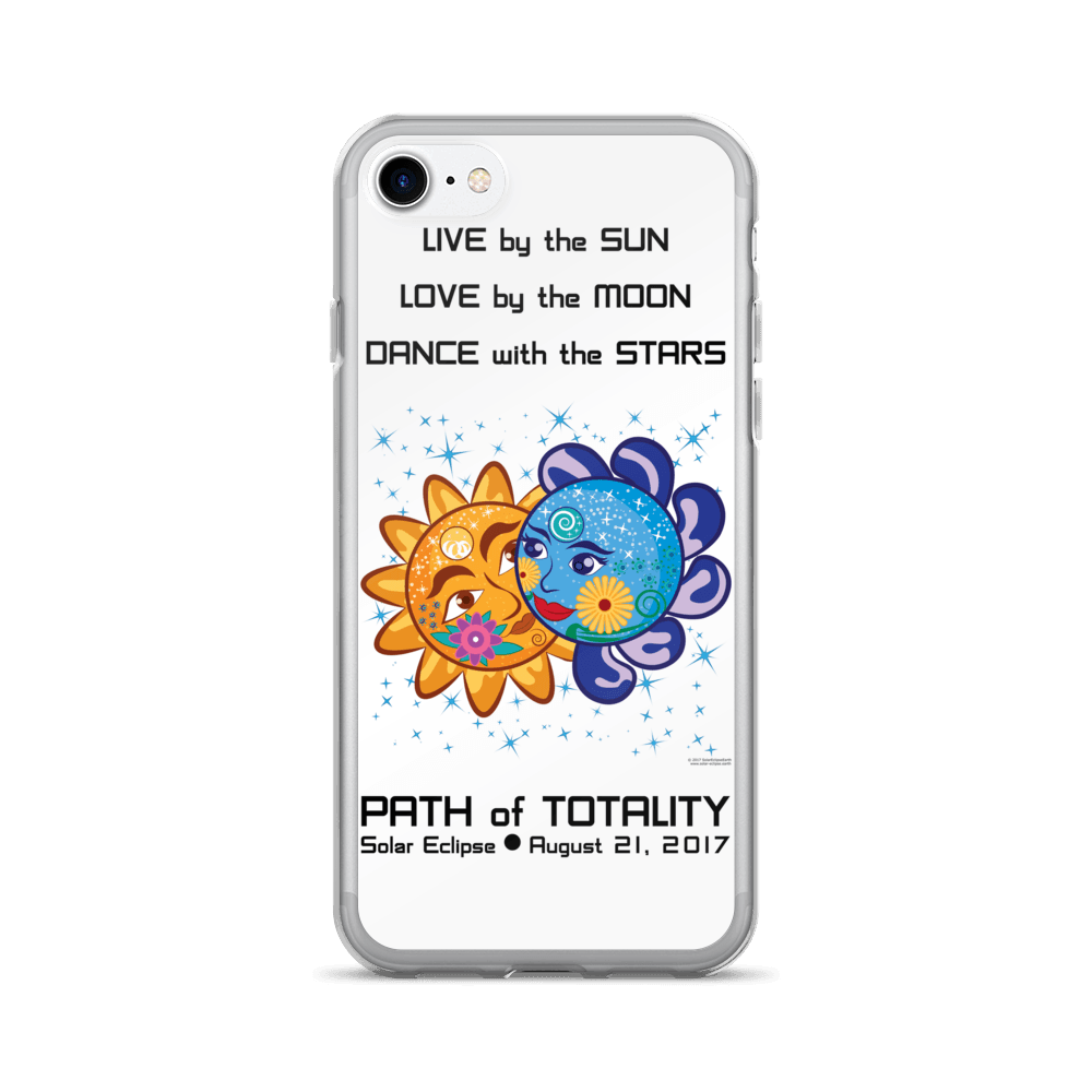 Solar Eclipse iPhone 7/7 Plus Case - Cinderella & Charming - Path of Totality August 21, 2017