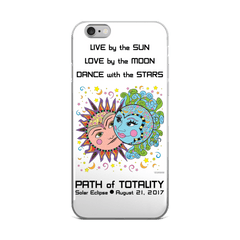 Solar Eclipse iPhone 5/5s/Se, 6/6s, 6/6s Plus Case - Phillip & Aurora - Path of Totality August 21, 2017