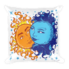 Solar Eclipse Throw Pillow - Antony & Cleopatra - Path of Totality August 21, 2017