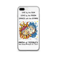 Solar Eclipse iPhone 7/7 Plus Case - Noah & Allie - Path of Totality August 2017