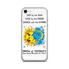 Solar Eclipse iPhone 7/7 Plus Case - Diego & Frida - Path of Totality August 2017