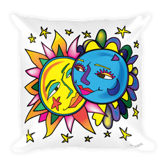 Solar Eclipse Throw Pillow - Tarzan & Jane - Path of Totality - August 21, 2017