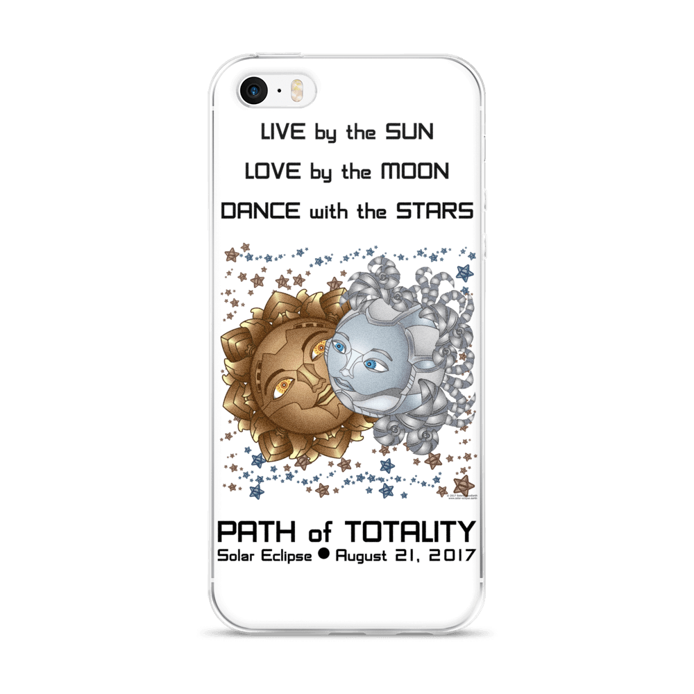 Solar Eclipse iPhone 5/5s/Se, 6/6s, 6/6s Plus Case - Deckard & Rachel - Path of Totality August 21, 2017