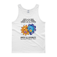 "Men's Tank Top: ""Cinderella & Charming"" LIVE LOVE DANCE PATH of TOTALITY Solar Eclipse August 21, 2017"
