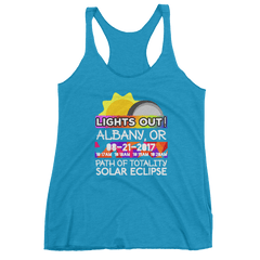 Women's - Albany OR - Solar Eclipse Tank Top: