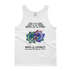 "Men's Tank Top: ""Anna & Vronsky"" LIVE LOVE DANCE PATH of TOTALITY Solar Eclipse August 21, 2017"