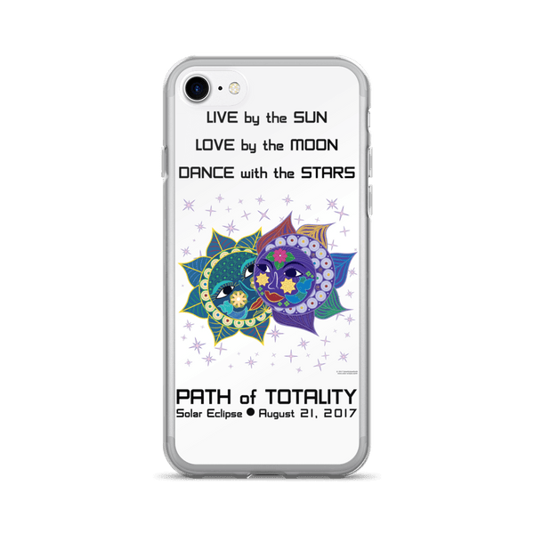 Solar Eclipse iPhone 7/7 Plus Case - Anna & Vronsky - Path of Totality August 2017