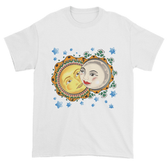Men's Solar Eclipse Short Sleeve T-Shirt - Romeo & Juliet - Live Love Dance Path of Totality August 21, 2017