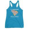 Women's Solar Eclipse Tank Top - South Carolina - Path of Totality August 21, 2017
