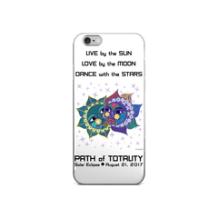 Solar Eclipse iPhone 5/5s/Se, 6/6s, 6/6s Plus Case - Anna & Vronsky - Path of Totality August 21, 2017