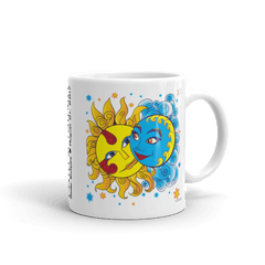 "Solar Eclipse Mug: ""Diego & Frida"" PATH of TOTALITY August 21, 2017 (Made in USA)"
