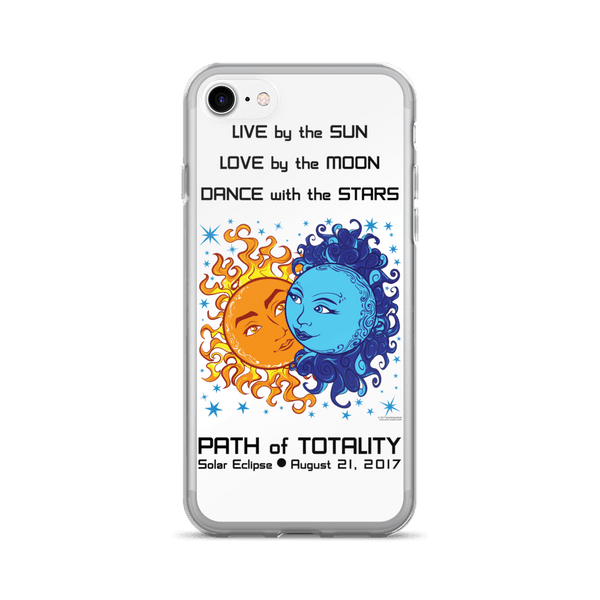 Solar Eclipse iPhone 7/7 Plus Case - Antony & Cleopatra - Path of Totality August 21, 2017