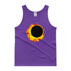 "Men's Tank Top:""Sun Moon Dance"" PATH of TOTALITY Solar Eclipse August 21, 2017"