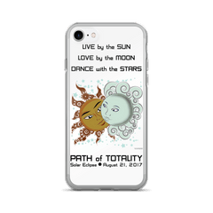 Solar Eclipse iPhone 7/7 Plus Case - Drogo & Daenerys - Path of Totality August 21, 2017