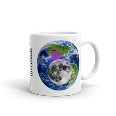 "Solar Eclipse Mug: ""Wyoming"" -Earth/Moon- PATH of TOTALITY August 21, 2017 (Made in USA)"