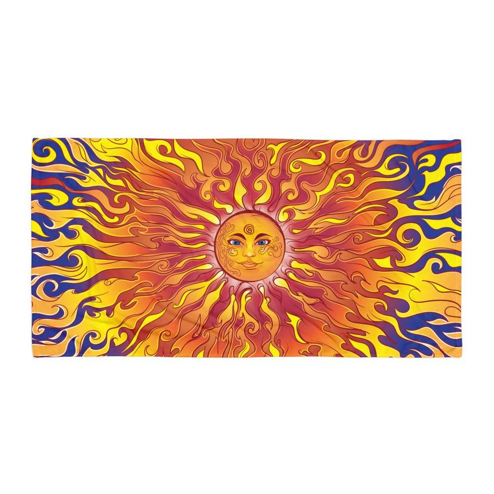 "Solar Eclipse Beach Blanket: ""Sun Blaze"" PATH of TOTALITY Great American Solar Eclipse August 21, 2017"