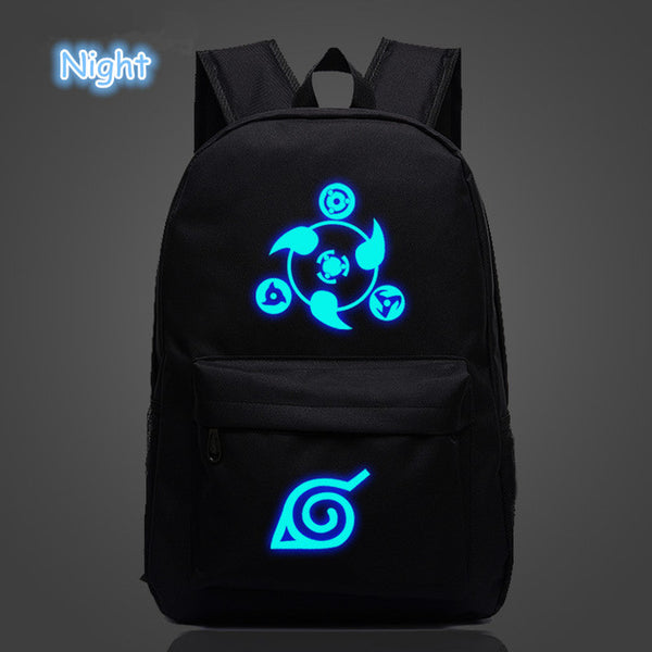 Black Naruto Backpack