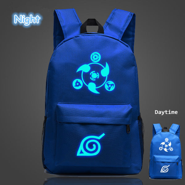 Blue Naruto Backpack