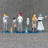 8 PCS Bleach Collectible Figures