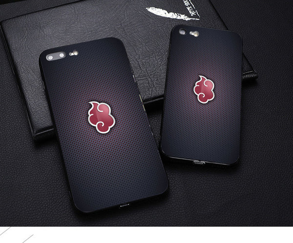 Small Akatsuki Symbol iPhone Case