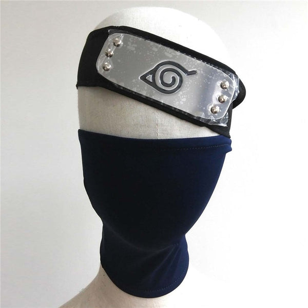 Kakashi Face Mask & Headband