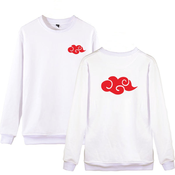 white Akatsuki shirt