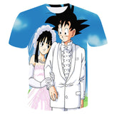 goku and bulma t-shirt
