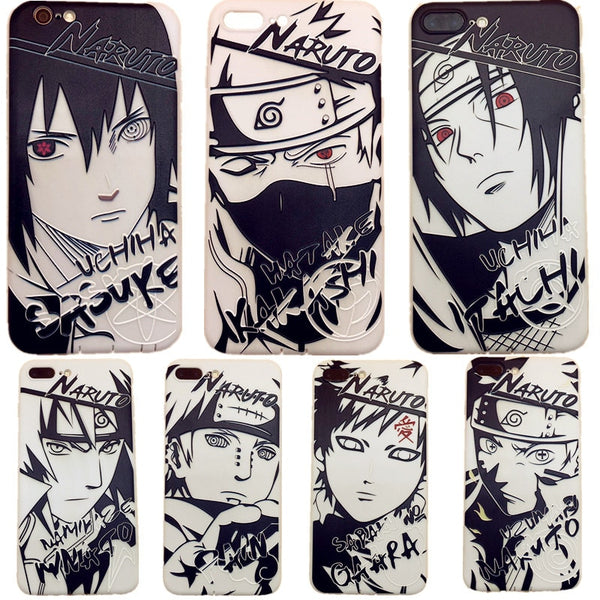 Artistic Naruto iPhone Cases