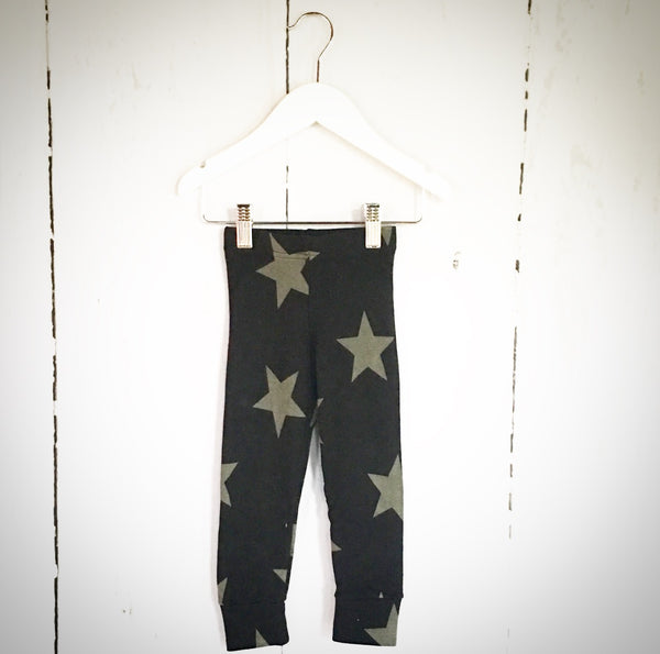 Star Leggings - Black