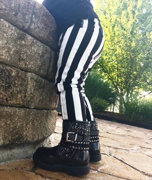 Studded Boots - Two Sizes Left (4 & 5)