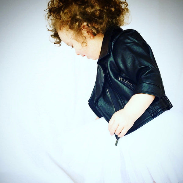Leather Jacket - (Two Sizes Left 4T)