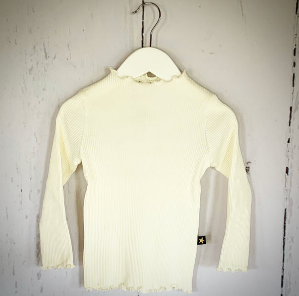 Fitted Ava Top - Ivory